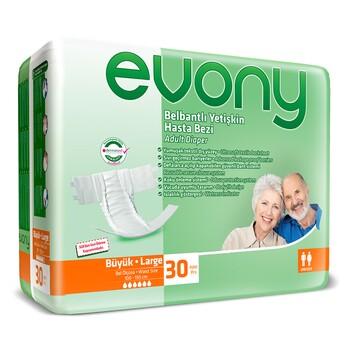 Подгузники для взрослых Evony 3 Large (30 шт)