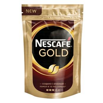 Кофе Nescafe Gold, пакет, 130 гр