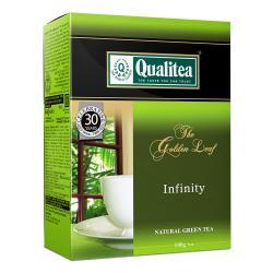 "Зелёный байховый чай Qualitea ""The Golden Leaf Infinity"" 100 гр"