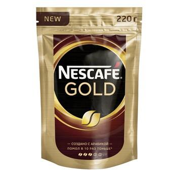 Кофе Nescafe Gold, пакет 220 гр