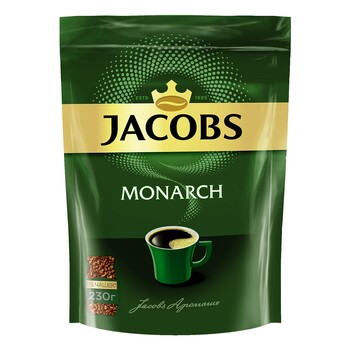 Кофе Jacobs Monarch, пакет 230 г