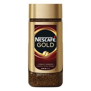 Кофе Nescafe Gold, стеклянная банка 95 гр