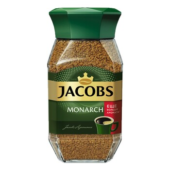 Kofe Jacobs Monarch, çüýşe gapda 47.5 gr