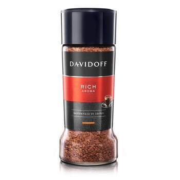 """Кофе Davidoff """"Rich Aroma"""", стеклянная банка 100 г"""