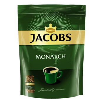 Кофе Jacobs Monarch, пакет 75 г