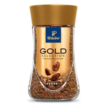 """Кофе Tchibo """"Gold Selection"""", стеклянная банка 47,5 г"""