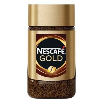 Кофе Nescafe Gold, стеклянная банка 47.5 гр