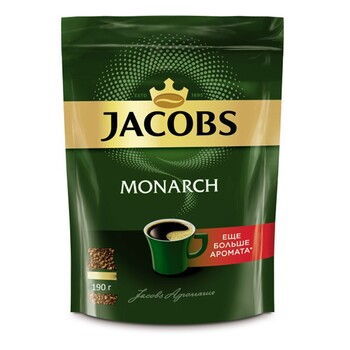Кофе Jacobs Monarch, пакет 190 г