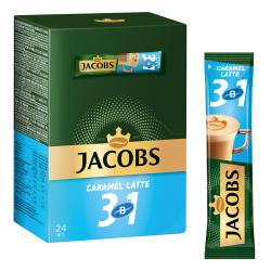 Kofe Jacobs Caramel Latte, 3x1 kiçi paket 12.3 gr