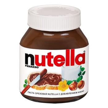 """Паста ореховая """"Nutella"""" с доб. какао 180 г"""