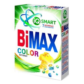 """Моющее средство BiMAX """"Color"""" автомат, каробка 400 г"""