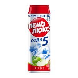 Чистящее средство Пемолюкс Сода 5 Яблоко, 480 г