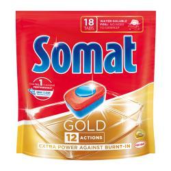 Таблетки для посудомоечной машины Somat Gold, 19,2 г (18 табл.)