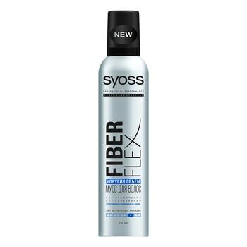 """Мусс SYOSS """"Fiberflex"""" для волос экстрасильная фиксация 250 мл"""