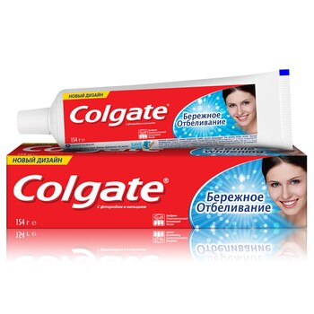 """Зубная паста Colgate """"Бережное Отбеливание"""" 100 мл"""