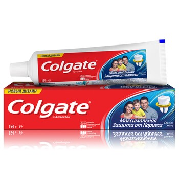 "Зубная паста Colgate ""Максимальная защита от кариеса"" Свежая мята 154 г"