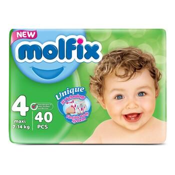 Подгузники Molfix 3D Eco Pack №4 Maxi, 7-14 кг (40 шт)