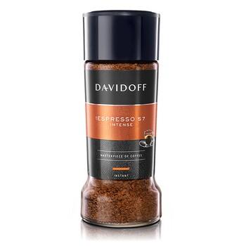 """Кофе Davidoff """"Espresso 57"""", стеклянная банка 100 г"""