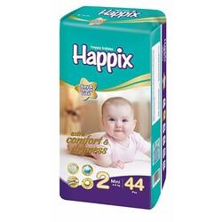 Подгузники HAPPIX №2, 3-6 кг, 44 шт/уп