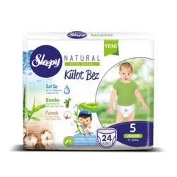 Подгузники Sleepy Natural Külot Junior 5, 11-18 кг 24 шт