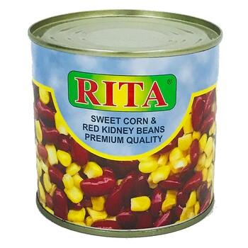 Смесь кукурузы с красной фасолью Rita, 400 г