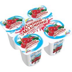 Продукт йогуртный Alpengurt Сочный молочный 1,2% вишня, 95 г