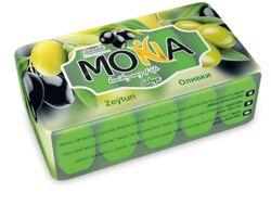 Мона мыло с ароматом оливки, 5 шт с 60 гр до 300 гр