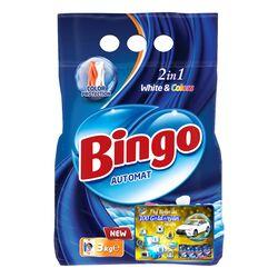 """Стиральный порошок Bingo """"White & Colors"""" 3 кг"""