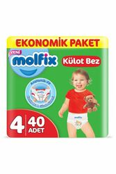 Подгузники-трусики Molfix Jumbo №4 Maxi, 7-14 кг (40 шт)