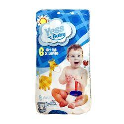 Подгузники Yess baby стандарт №6 X Large, 16+ кг (8 шт)