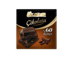 Ülker Bitter темный шоколад, 60 гр