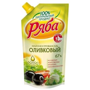 Майонез Ряба Оливковый 67%, 200 г