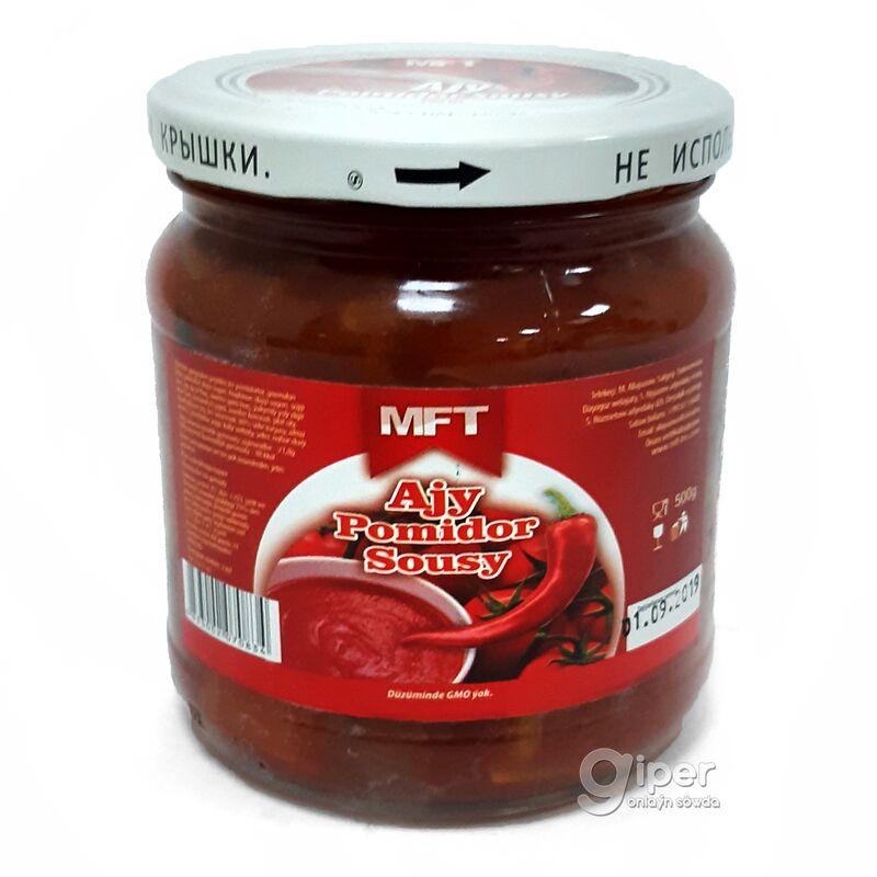 """Соус томатный острый """"MFT"""", 500 мл"""