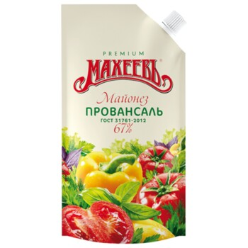Майонез Махеевъ Провансаль классический 67%, 190 мл