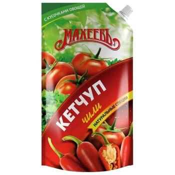 Кетчуп Махеевъ Чили жгуче-острый, 500 г