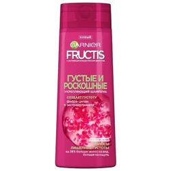 GARNIER Fructis шампунь Густые и роскошные Укрепляющий с молекулой Фибра-цилан и экстрактом Граната для волос, лишенных густоты, 250 мл