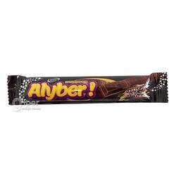 Тёмный шоколад Alyber со вкусом фундука, 16 гр