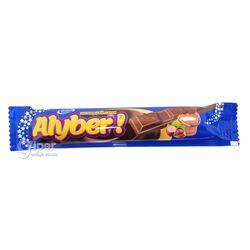 Молочный шоколад Alyber со вкусом лесного ореха, 16 гр