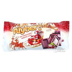 """Молочный шоколадный плитка Alyber """"Aýaz baba"""" со вкусом ореха, 30 г"""