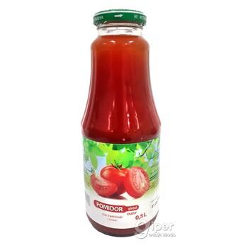 """Сок томатный натуральный """"MFT"""" с солью, 500 мл"""