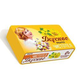 """Мыло для детей Детское """"с чистотел"""" 90 г"""
