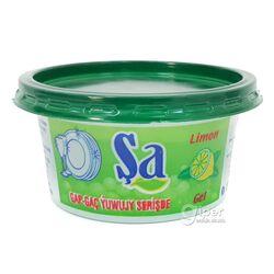 Средство гель для мытья посуды Şa Лимон, 230 г