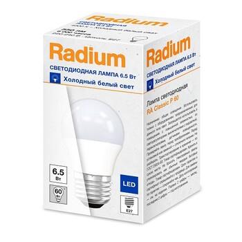 Светодиодная лампа RADIUM RL P60 6,5W/840 230V E27