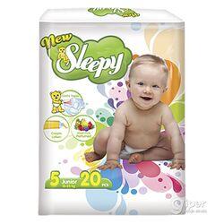 Подгузники New Sleepy, Junior №5, 12-25 кг, 20 шт