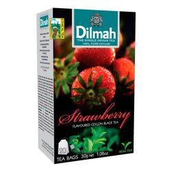 Чай Dilmah Черный Клубника в пакетиках, 20 шт (30 г)