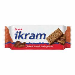 Ülker ikram печенье из молочного шоколада, 84 гр