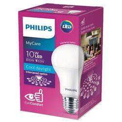 Лампа светодиодная Philips LED 1CT/12 6500K, E27, A60, 10Вт