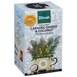 """Чай Dilmah """"ROOIBOS"""" Фруктовый карамель, имбирь и кокос в пакетиках, 20 шт (40 г)"""