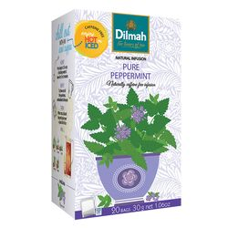 "Чай Dilmah ""Natural Infusion"" перечная мята в пакетиках, 20 шт (30 г)"
