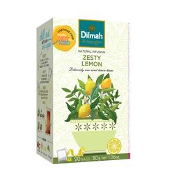 """Чай Dilmah """"Natural Infusion"""" пикантный лимон в пакетиках, 20 шт (30 г)"""